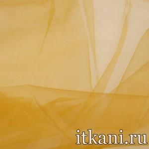 Ткань Органза, цвет коричневый (3454)