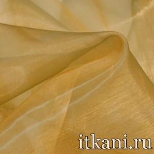 Ткань Органза, цвет коричневый (3455)