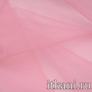 Ткань Органза, цвет розовый (3459)