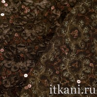 Ткань Сетка с пайетками