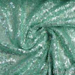 Ткань Сетка с пайетками 5392