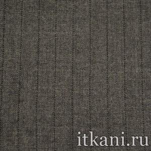 Ткань костюмная шерстяная, узор полоска (1859)