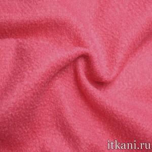Шерсть пальтовая букле, цвет розовый (5134)