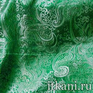 Ткань Парча, узор турецкий огурец (2951)