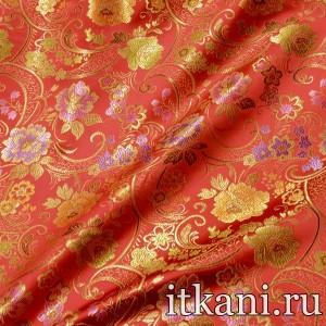 Ткань Китайский Шелк, узор турецкий огурец (2973)