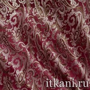 Ткань Китайский Шелк, узор турецкий огурец (2977)