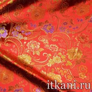 Ткань Китайский Шелк, узор турецкий огурец (2982)