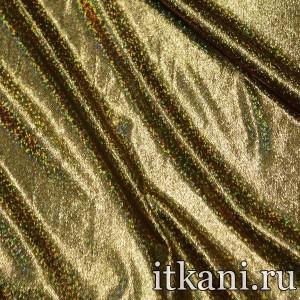 Ткань Голограмма, цвет золотой (3024)