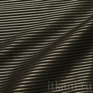 Ткань Рубашечная в бежевую полоску (0540)