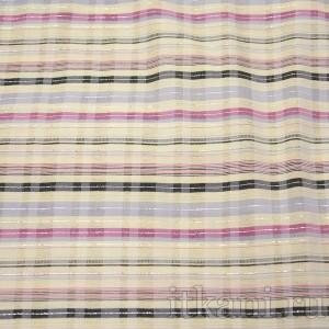 Ткань Рубашечная разноцветная полоска, узор геометрический (0544)