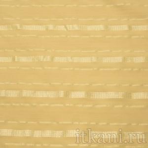 Ткань Рубашечная бежевая в полоску, узор полоска (0556)