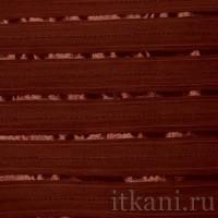 Ткань Рубашечная бордовая в полоску