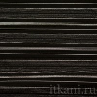Ткань Рубашечная черная в стильную полоску