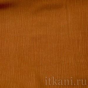 Ткань Рубашечная рыжая, цвет оранжевый (0589)