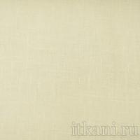 Ткань Лен однотонный белый