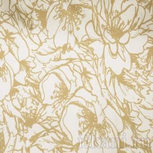 Ткань Костюмная с растительным орнаментом (0635)