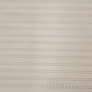 """Ткань Костюмная цвета слоновой кости в полоску """"Глостер"""", узор полоска (0664)"""