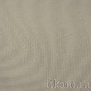 Ткань Костюмная серо-бежевого цвета, цвет серый (0667)