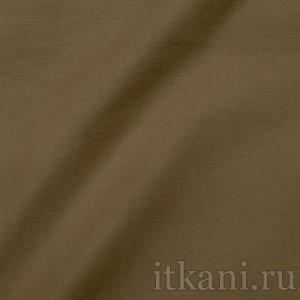 """Ткань Костюмная оливковая """"Олдем"""", цвет коричневый (0673)"""