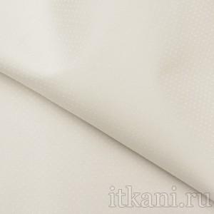 Ткань Костюмная белая в крапинку, цвет белый (0687)