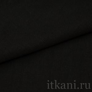 """Ткань Костюмная черная """"Дингуолл"""" (0764)"""