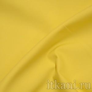 Ткань рубашечная желтого цвета (0789)