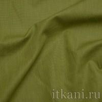 """Ткань Рубашечная травяного цвета """"Бенджамин"""""""