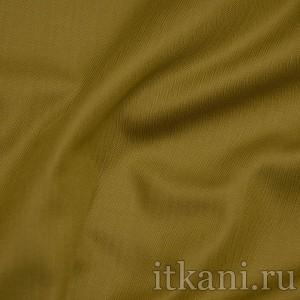 """Ткань Рубашечная горчичного цвета """"Брэд"""", цвет коричневый (0814)"""