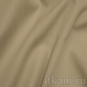 """Ткань Рубашечная бежевого цвета """"Кельвин"""", цвет бежевый (0819)"""
