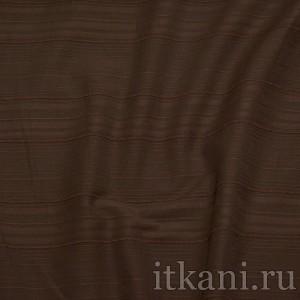"""Ткань Костюмная цвета шоколада """"Кёртис"""", цвет коричневый (0829)"""