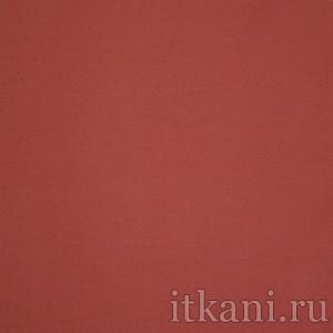 """Ткань Рубашечная красного цвета """"Дэвид"""", цвет красный (0835)"""
