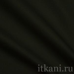 """Ткань Рубашечная черного цвета """"Эдвард"""" (0849)"""