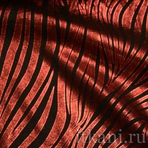 """Ткань Рубашечная красно-черная """"Грег"""""""