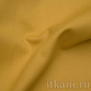"""Ткань Костюмная горчичного цвета """"Джерри"""" (0881)"""
