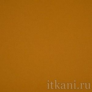 """Ткань Костюмная тыквенного цвета """"Алиса"""", цвет оранжевый (0961)"""