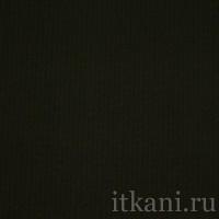 """Ткань Костюмная  черного цвета """"Дебби"""""""