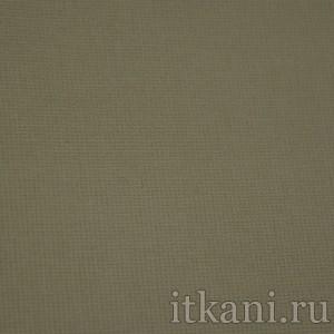 """Ткань Костюмная серо-зеленого цвета """"Джулиет"""", цвет зеленый (1061)"""