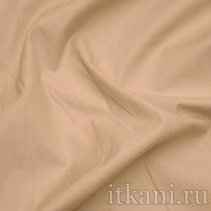 """Ткань Рубашечная бежевого цвета """"Бернард"""", цвет бежевый (0809)"""