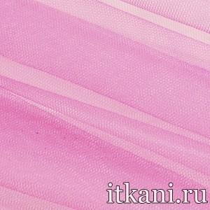 Ткань Фатин Жесткий, цвет розовый (4340)
