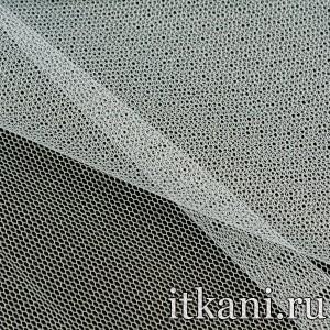Ткань Фатин Жесткий 4349 цвет белый