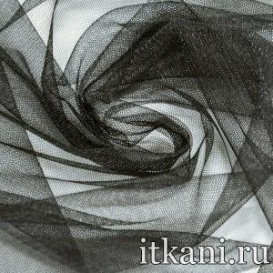 Ткань Фатин Средней Жесткости 4381 цвет черный