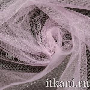 Ткань Фатин Средней Жесткости, цвет розовый (4396)