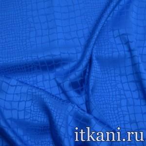 Ткань Шелк, цвет синий (5035)