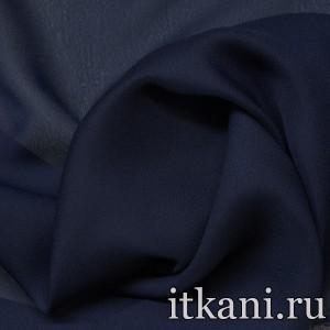 Ткань Шифон однотонный, цвет синий (2885)