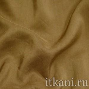 Ткань Штапель однотонный, цвет коричневый (1533)