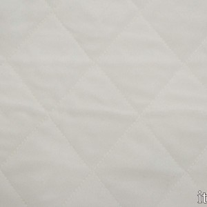 Ткань Подкладочная Стеганая 5664 цвет белый
