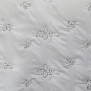 Ткань Курточная Стеганая, узор цветочный (5773)