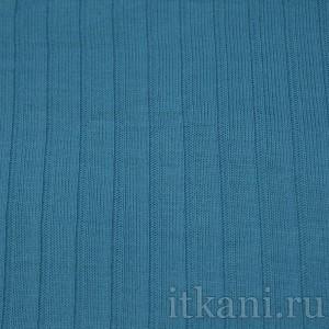 Ткань Трикотаж, цвет бирюзовый (0004)