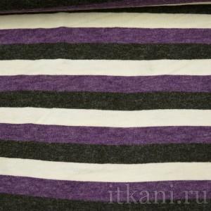 Ткань Трикотаж, узор полоска (0021)