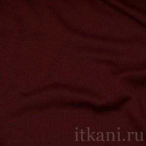 Ткань Трикотаж, цвет бордовый (0045)